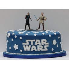 "Детский торт ""Star Wars Люк и отец"""