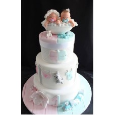 "Детский торт ""Близняшки"""