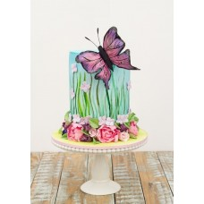 "Детский торт ""Весенняя бабочка"""
