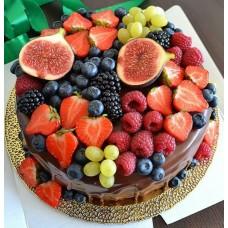 """Торт """"Свежесть ягод"""""""