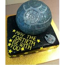 "Детский торт ""Корабль. Star Wars"""