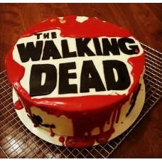 "Торт ""Кровь. Walking Dead"""