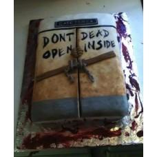 """Торт """"Дверь. Ходячие мертвецы"""""""