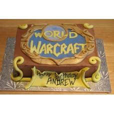 "Торт ""Игра. World of Warcraft"""
