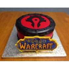 "Торт ""Альянс. World of Warcraft"""