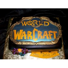 "Торт ""Классы. World of Warcraft"""