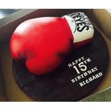 """Торт """"Счастливая боксерская перчатка"""""""