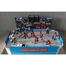 "Торт ""Хоккей. Чемпионат"""