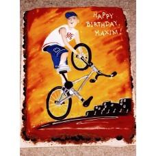 """Торт """"Профессиональный велосипедист"""""""