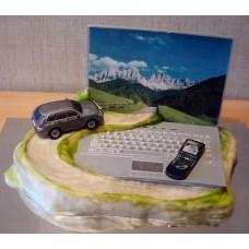 """Торт """"Виртуальное путешествие"""""""