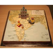 """Торт """"Индия и храм"""""""