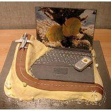 """Торт """"Виртуальный полет"""""""