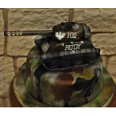 """Торт """"Черный танк"""""""
