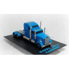 """Торт """"Синий грузовик"""""""