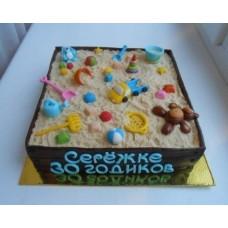 """Торт """"Сереже 30 годиков"""""""