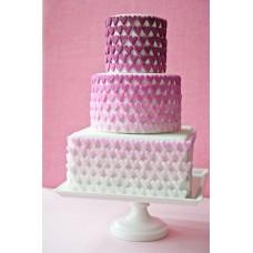 """Торт на день влюбленных """"Сахарные сердечки"""""""