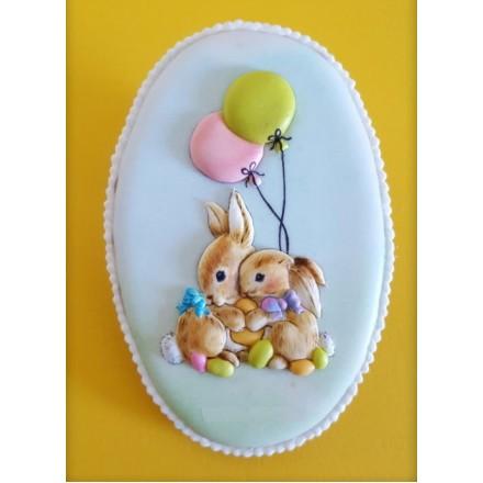 "Торт на Пасху ""Кроличьи объятья"""
