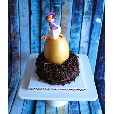 """Торт на Пасху """"Гусыня и Золотое яйцо"""""""