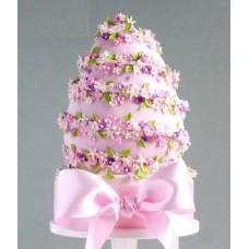 """Торт """"Цветочное сплетение"""""""