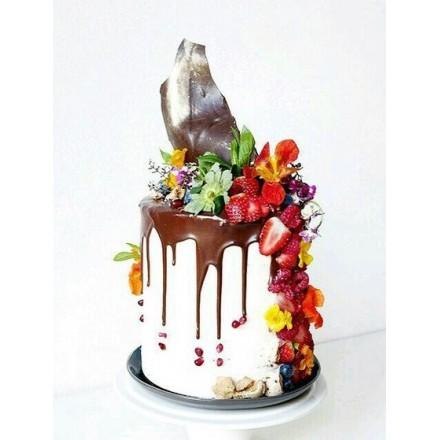 """Торт """"Ягодный стильный"""""""