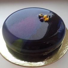 """Торт с глянцевым покрытием """"Ночной глянец"""""""