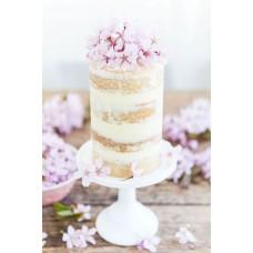 """Торт """"Нежный бисквит и цветочки"""""""