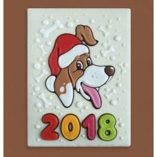"""Новогодний торт 2018 """"Новый год 2018"""""""