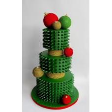 """Новогодний торт 2018 """"Необычная елка"""""""