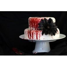 """Торт к Хэллоувину """"Кровавый десерт"""""""