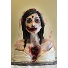 "Торт к Хэллоувину ""Мертвая невеста"""