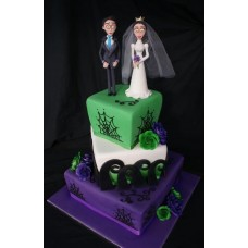 """Торт к Хэллоувину """"Труп невесты"""""""
