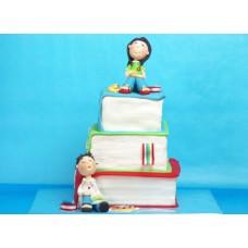 """Торт на День студента """"Подготовка к экзаменам"""""""