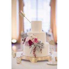 """Свадебный торт """"Стрела амура"""""""