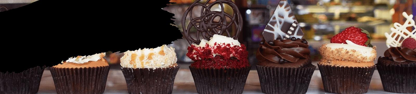 Пирожные и капкейки